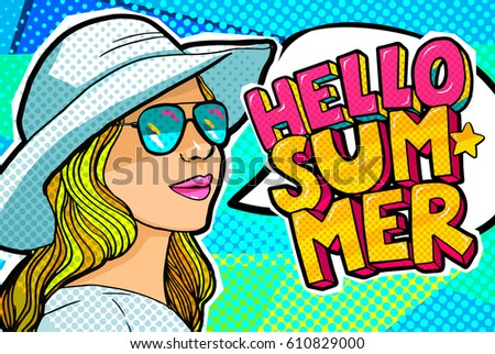 hello summer message and