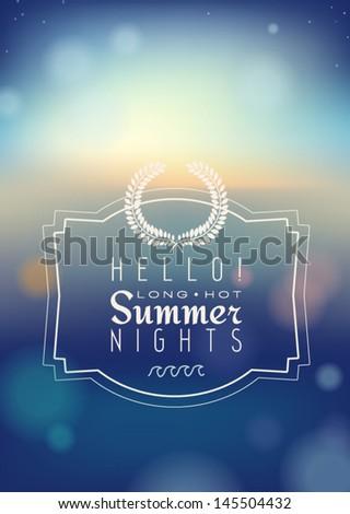 hello summer nights
