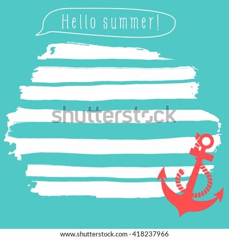 hello summer notepad