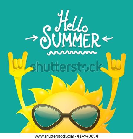 hello summer rock n roll poster....