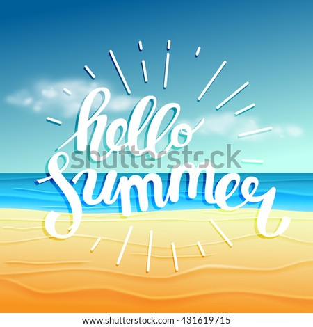 hello summer  summer time