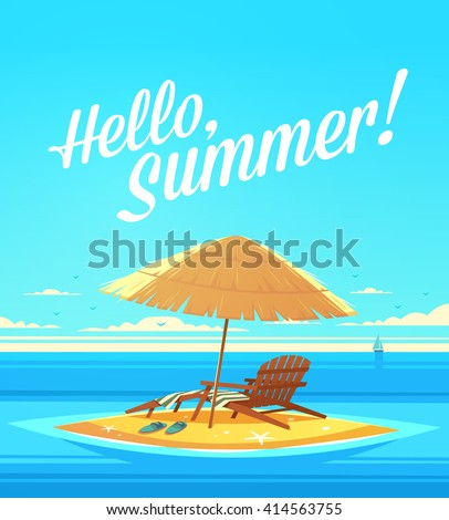 hello  summer  summertime quote