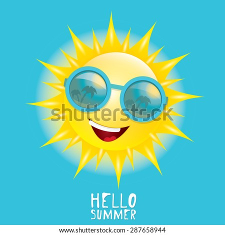hello summer vector summer