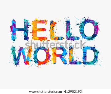 hello world inscription of