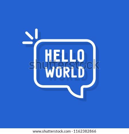 hello world text in speech