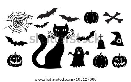 helloween set with cat