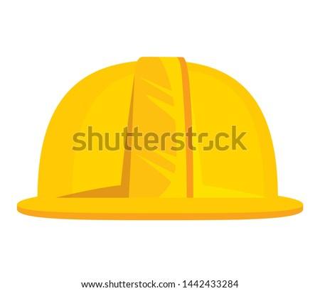 helmet construction element isolated icon