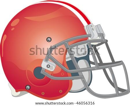 helmet football team red
