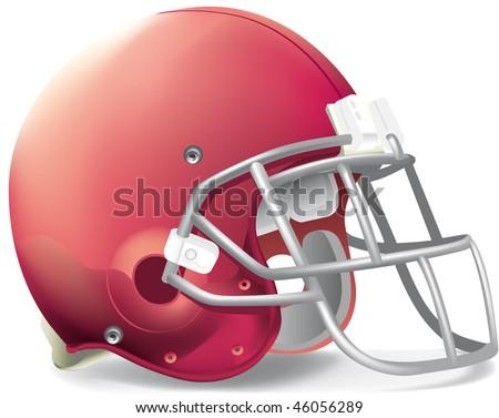 helmet football team red super
