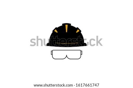 Helmet vector icon on white background. Flat vector helmet icon symbol sign. Black helmet icon. Helmet icon flat design vector illustration.