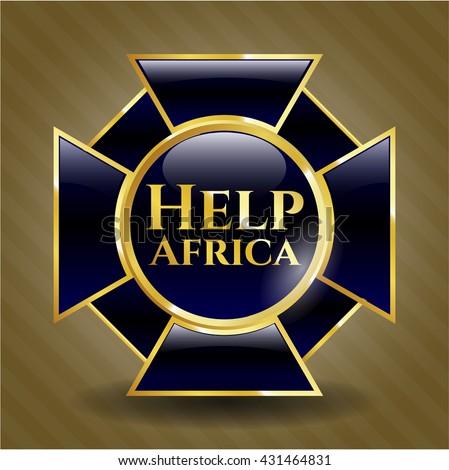 Help Africa gold badge