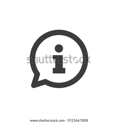 Help desk, info desk concept icon Photo stock ©