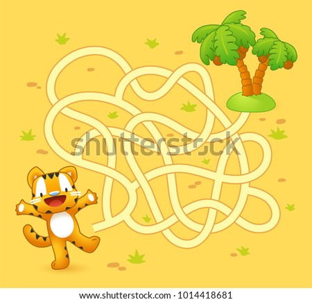 Kids school maze game - Download Free Vectors, Clipart