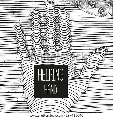 helping hand artistically