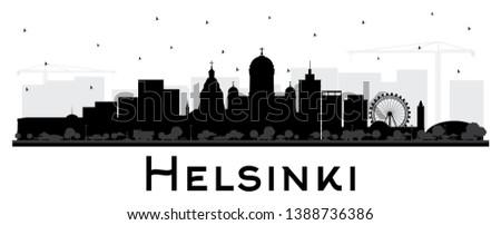 helsinki finland city skyline