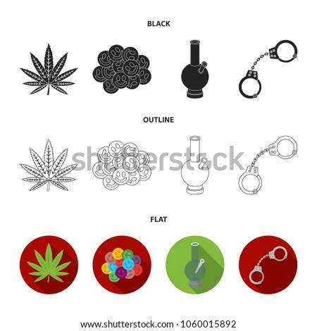 hemp leaf  ecstasy pill