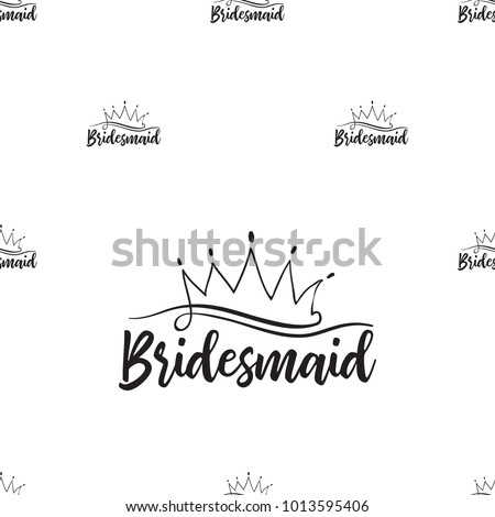 hen bachelorette party vector