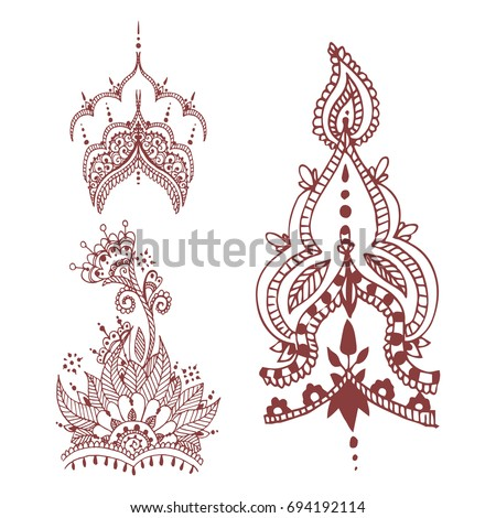Henna Vector Download Free Vector Art Stock Graphics Images