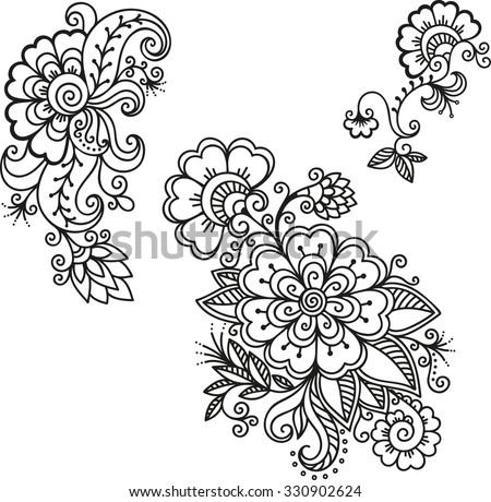Download Mehndi Tattoo Wallpaper 240x320