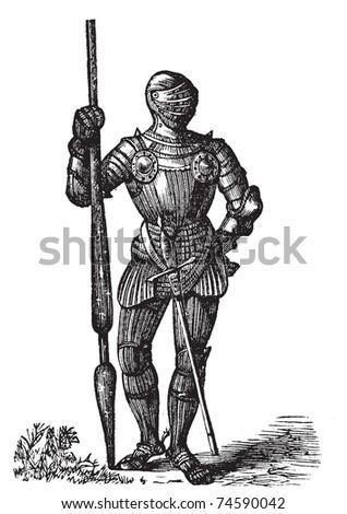 armor king. VII armor, King of England