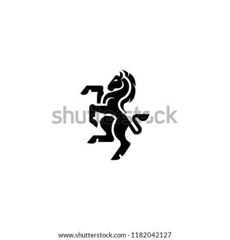 stock-vector-heraldic-horse-logo-icon-vector