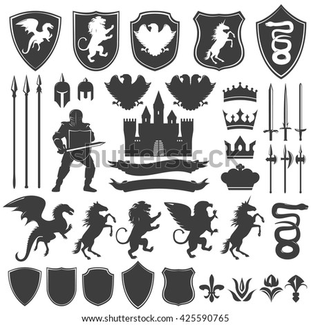 heraldry decorative graphic