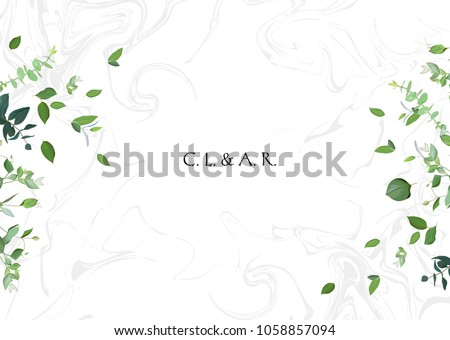 herbal minimalistic vector