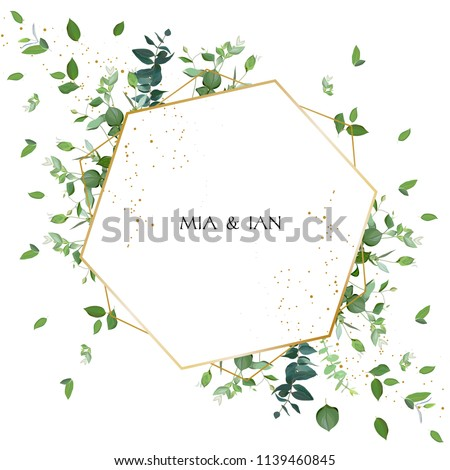herbal minimalistic vector
