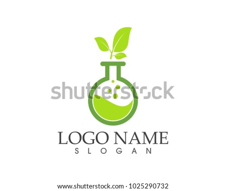 Herbal pharmacy icon sign logo