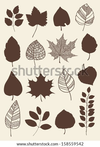 herbarium of the different red