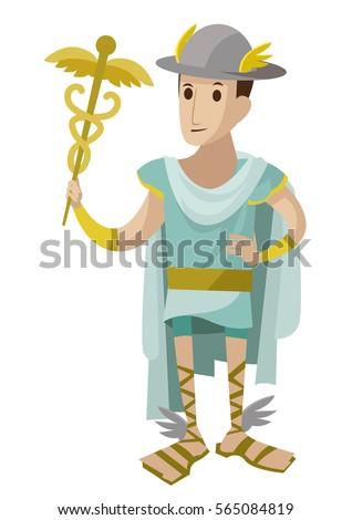 hermes mercury greek roman