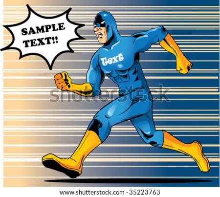 hero running