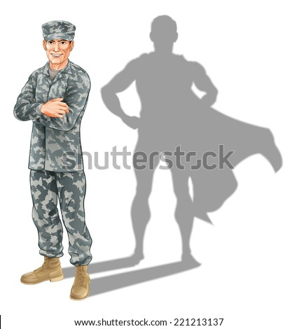 hero soldier concept a