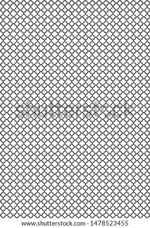Hexa Pattern, Geometrical Pattern, Retro Pattern