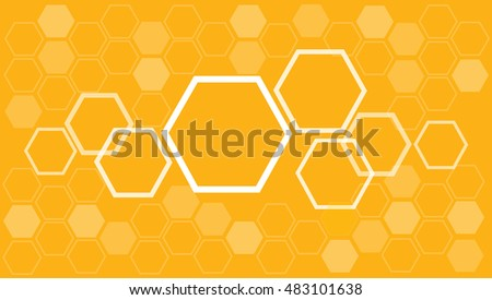 hexagon abstract background , bee hive background