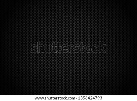 hexagon dark background black