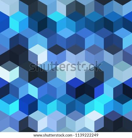 hexagon grid seamless vector