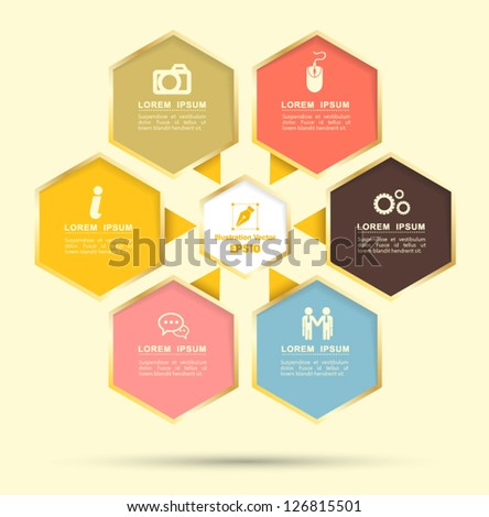 Hexagon group for business plan or use for education - Business plan for web design company ...