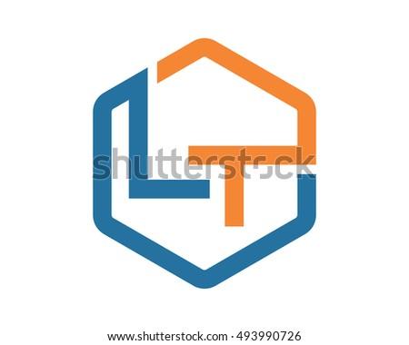 Logotipo de fotografia de hexágono - Download Vetores e Gráficos