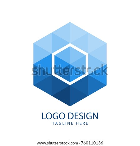 Hexagon logo design