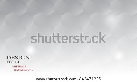 Hexagon pattern gray wallpaper #643471255