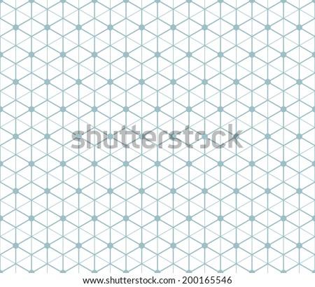 hexagonal abstract connection