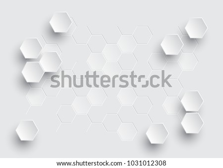 hexagonal geometric abstract