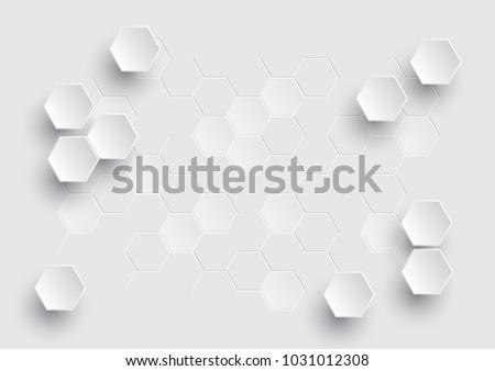 hexagonal geometric abstract