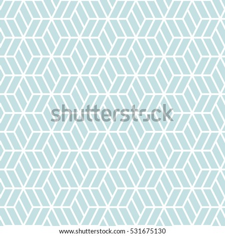 Hexagonal Grid Pattern Seamless Background EZ Canvas