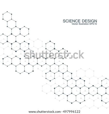 hexagonal molecule molecular