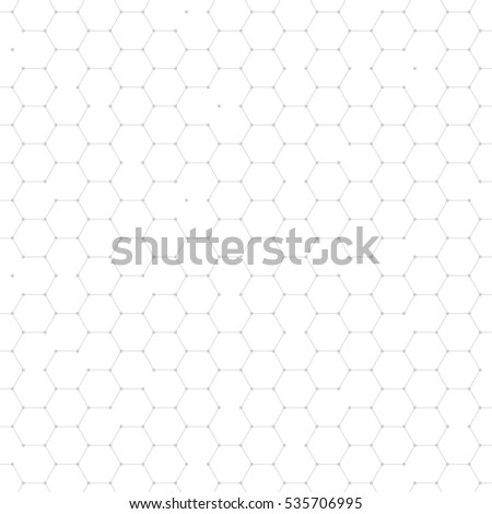 Hexagonal structure mesh net background. Abstract geometric hexagon shape cells polygonal pattern. Honeycomb wallpaper