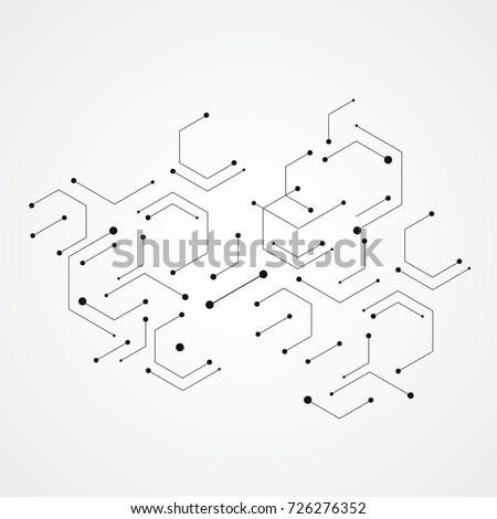 hexagons genetic  science