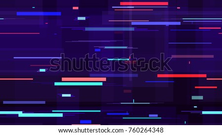 Hi Tech Background Texture with Polygons. Neon Speed Lines, Stripes Seamless Pattern. Packaging, Ad, Fashion Pattern Design. Fabric Ornament with Stripes.