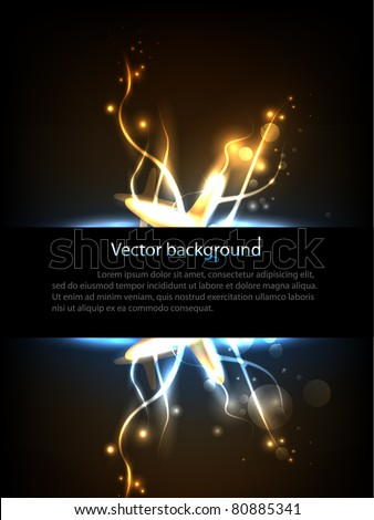 Hi-Tech background with place for your text. Vector illustration.